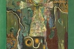 Talking to My Angel III_oil on canvas_100 x 50 cm
